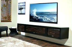 floating entertainment center diy wall mounted stands with shelves units for electronics floating entertainment shelf she