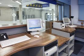 office counter design. Ticket Office Counter - Interior Equipment Layout And . Design E