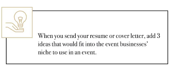 40 Resources To Get Into Event Planning Updated 40 Magnificent Resume Event Planning