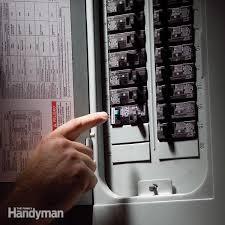 fix a sensitive arc fault circuit breaker family handyman Eaton Electrical Panel Fuse Box fh07dja_cirbre_02 3 Electrical Breaker Panel Boxes
