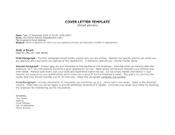 email job cover letters template email job cover letters
