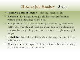 Job Shadow Job Shadowing Is A Popular On The Job Learning