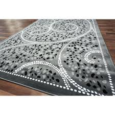 red black and gray area rugs awesome abstract contemporary white rug modern within grey