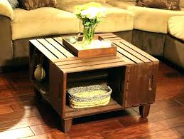 wooden crates table crate end large size of ideas with best furniture wood dog cra