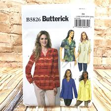 Butterick Plus Size Patterns Interesting Butterick 48 Womens Plus Size Pullover Tops Sewing Patterns