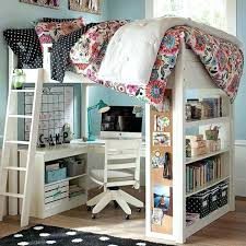 bed with desk under loft beds with desks to save kids room space bed desk tray