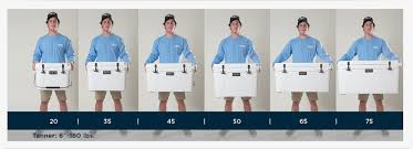 Yeti Color Chart Yeti Cooler Sizes Find The Actual Yeti Size For Your Needs