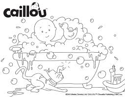 Small Picture 76 best Caillou Coloring Fun images on Pinterest Caillou