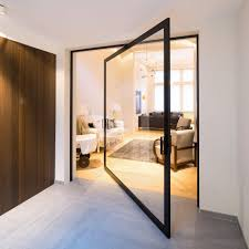 Innovative Pivoting Doors Double As Room Dividers Fres Home Doors - Exterior pivot door