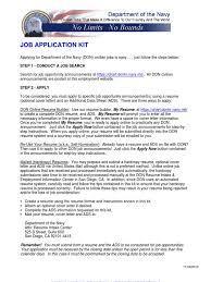 Job Kit Military Discharge Resume