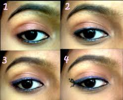 i designed my outer corner little funny with a liquid eyeliner simply that s it my eotd is done as a beginner i felt very easy doing this so hope you