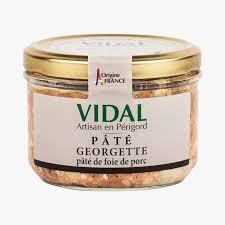 Pâté Georgette - pâté de foie de porc - Vidal