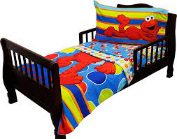 elmo twin sheet set amazon com sesame street elmo 4 piece toddler bedding set baby