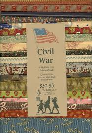 160 best Civil War Fabric & Quilts images on Pinterest | Blankets ... & Civil War Scrap Stack Collection - 20 quarter yard cuts - Welcome to The  Qulting Hen. Civil War QuiltsFabric ... Adamdwight.com