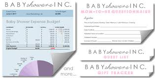 Baby Shower Planning Power Pack Baby Showers Inc