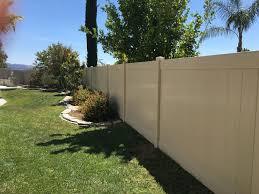 Vinyl Privacy Fence Tan Tan Vinyl Semi Privacy Privacy Fence G