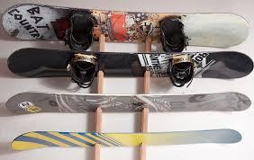 snowboard rack wall mount