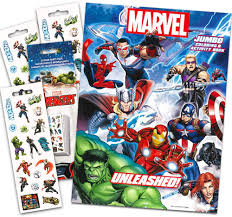 You can edit any of drawings via our online image editor before downloading. Amazon Com Marvel Avengers Coloring Activity Book With Temporary Tattoos Spider Man Thor Iron Man Captain America The Incredible Hulk Toys Games