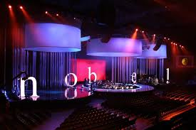 studiotak high gloss black stage floor nobel peace prize