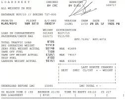 How Do Commercial Pilots Know The Weight Of Passengers Fuel