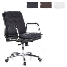 aspera 10 executive office nappa leather brown. Office Chair / Executive VILLA 10 Napa Leather Hjh OFFICE Aspera Nappa Brown E