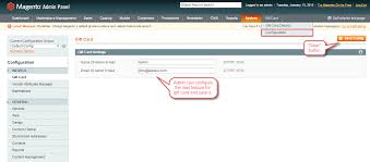 now admin can create a new gift card under catalog manage add