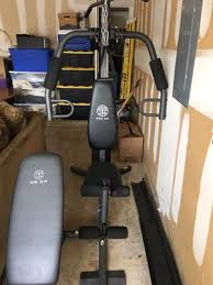 golds gym home gym and bench in fort worth tx