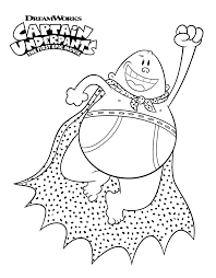 Captain Underpants Coloring Pages Cartoon Coloring Pages Captain