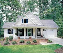 low country house plans with attached garage elegant 122 best small house plans images on