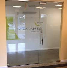 partition and door glass partition and door