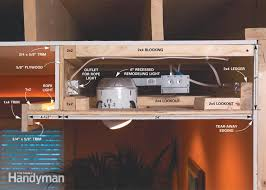 how to build a soffit box recessed lighting the family handyman figure a soffit details