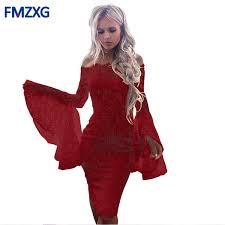 <b>2019</b> 2018 <b>Sexy Cool Shoulder</b> Design Bandage Dress Women ...