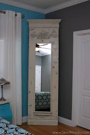 Transform A Basic 39 Ikea STAVE Mirror From Blah To Amazing By