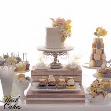 grey and yellow wedding cakes. grey and yellow wedding cake dessert table cakes