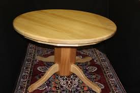 solid wood round maple student table 1ewu