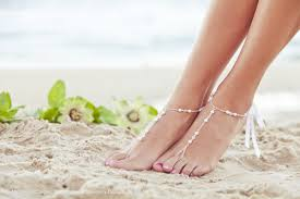 Pearl Foot Jewelry Bridal Barefoot Sandal Beaded Feet Wedding Foot Jewelry