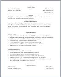 computer trainer resume horse trainer resume