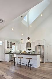 vaulted ceiling kitchen