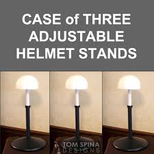 Helmet Display Stands Inspiration Case Of 32 Adjustable Display Stands Tom Spina Designs Tom Spina