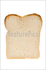 Baked Goods Slice Of White Bread Stock Image I1497805 At Featurepics