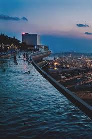 infinity pool singapore dangerous. City, Pool, And Night Image Infinity Pool Singapore Dangerous