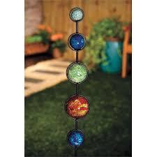Buy Garden Solar Mosaic Lights Case Of 12 At Home BargainsSolar Mosaic Garden Lights
