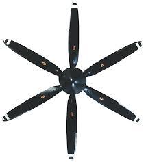 airplane ceiling fan propeller fans warbird pull