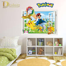 Pokemon Bedroom Wallpaper Compare Prices On Pokemon Wall Poster Online Shopping Buy Low