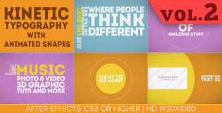 typography templates 25 amazing after effects kinetic typography templates web