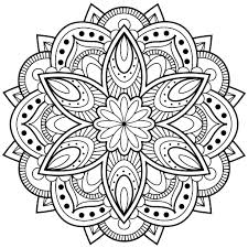 Small Picture Mandala Coloring Pages Free Within diaetme