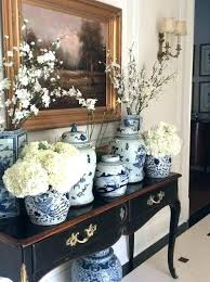 Decorating With Blue And White Porcelain Chinese Office Home