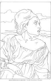 Orpheline Au Cimetiere Eugene Delacroix Disegni Da Colorare Con