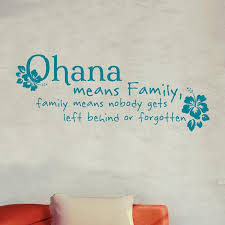 Ohana Means Family Quote Magnificent Ohana Means Family Quote Decal Shop Decals At Dana Decals