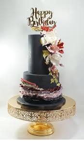 Black Beauty Birthday Cake The Sugar Kitchen